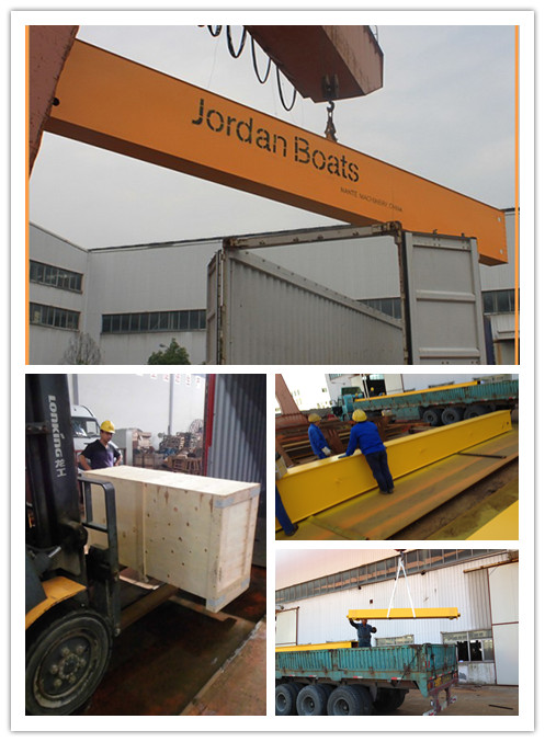16t Electric Traveling Double Girder Overhead Cranes For Repair Shops