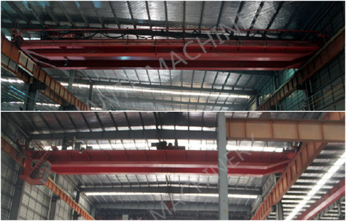 QD25t - 5t - 22m Double Girder Overhesd Cranes For Transporting Loads
