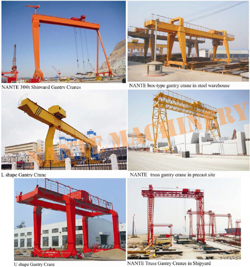 60T -20m - 9m Gantry Lifting Equipment Which Could Climb Stairs