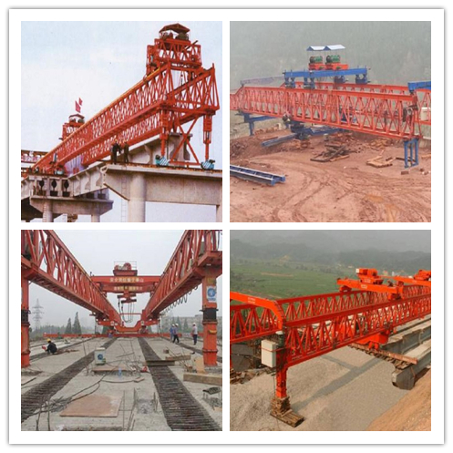 300t-40m Beam Launcher for bridge construction in India