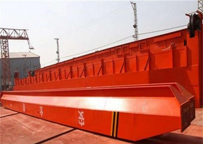 ISO Box Type MH 5T - 9M Single Girder Gantry Crane For Indoor / Outdoor Use