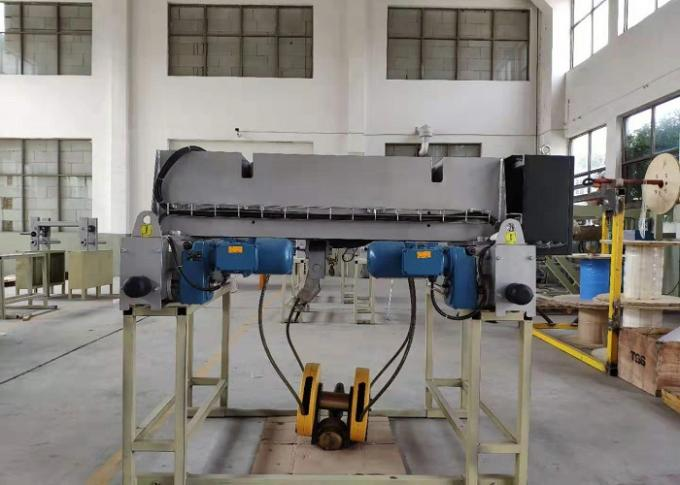 8T - 9m Nante Double Girder Hoist 9.5kw / 1.5kw Lifting Power Electric Rope Hoist