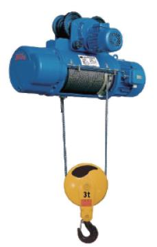 Explosion Proof Pneumatical Foot Mounted Wire Rope Hoists SH Fixed 1/2