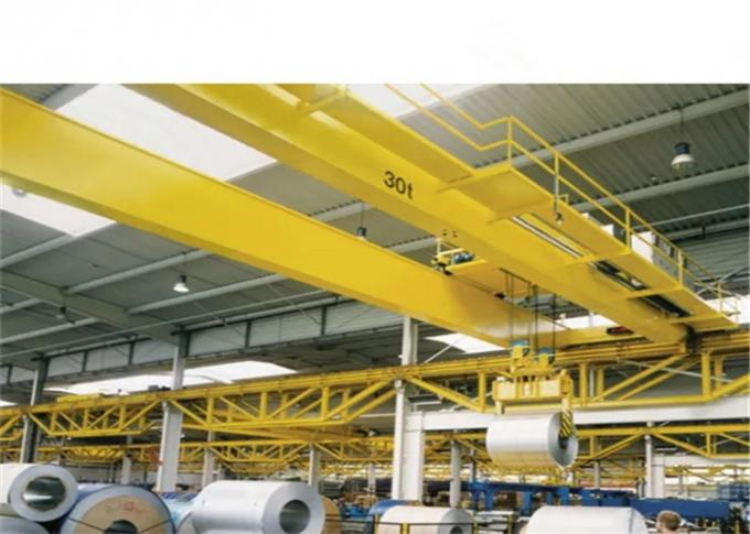 20t Double Girder Overhead Crane with 20m Span in Yellow A5 working duty 0