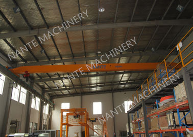 China LDX1t-12m Single Girder Overhead Cranes for machinery works/ Workshop / Warehouse / Station supplier