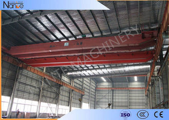 China 16t Electric Traveling Double Girder Overhead Cranes For Repair Shops supplier