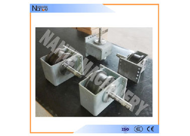 industrial Heavy Alloy Wheel Block/ Hollow shaft end carriage wheel block