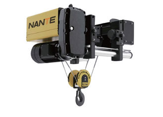 China 12.5 Ton Low Headroom Hoist For Workshop , Maximum Lifting Height 30m supplier