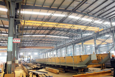 China IP56 Single Girder Overhead Medium Duty 5t Bridge Cranes for Machine Shop supplier
