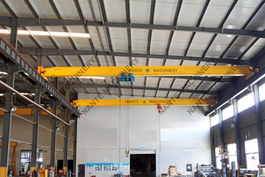China Heavy Duty Single Girder Overhead Cranes / Bridge Cranes for Paper Mills supplier