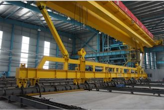 China PQD Overhead Crane Single Girder Overhead Cranes for PC Pile Factory supplier