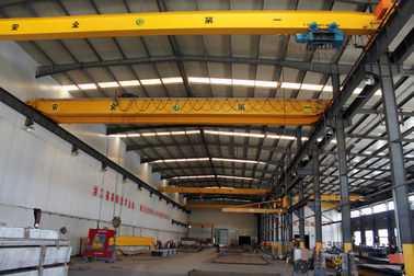 China Crab Framed Electric Single Girder Overhead Cranes For General Engineering Application supplier