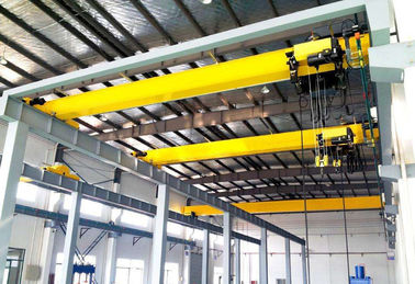 China Heavy Duty Single Beam Overhead Crane 8 Ton 15m SA2.5 For Workshop Warehouse supplier