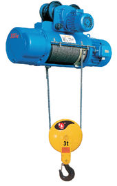 China Wire Rope Crane Light Underhang Small Electric Hoist With 20 Ton Capacity supplier