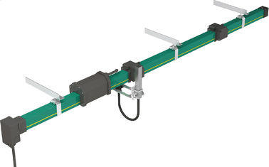China HFP56 PVC Housing Overhead Crane Hoist Parts Enclosed Conductor Rail System supplier