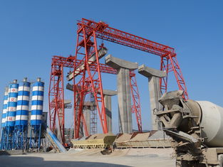 China DCS 80t - 34m / 36m Industrial Bridge And Gantry Crane For Mining Maintenance supplier