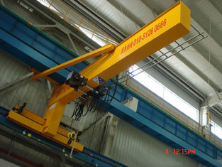 China Compacted Frame Wall Traveling Truck Jib Cranes For Fitting & Fabrication Workstation supplier