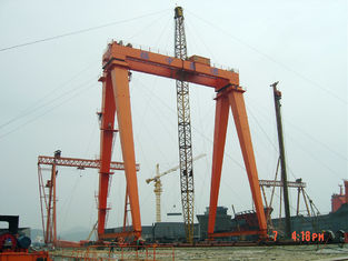 China OEM Remote Controlling Gantry Shipyard Cranes For Granite Industry supplier