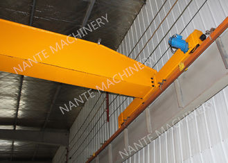 China 2 T Single Girder Overhead Cranes For Factories / Material Stocks / Workshop Span 11m Lifting height 6m supplier