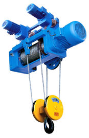 China Portable Standard Headroom Trolley Wire Rope Hoists SH Type 1/4 Fall For Single Girder supplier