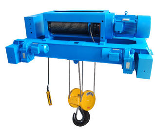 China Custom Double Girder Electric Steel Wire Rope Hoists SH Type Motor Protection IP54 supplier