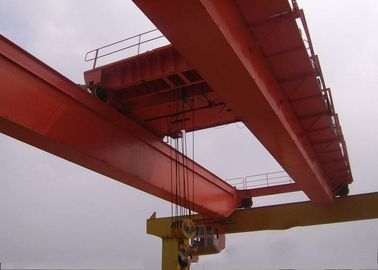 China LH -10t -10.5m -9m Double Girder Overhead Cranes , Bridge Crane Safety For Cement Plant supplier