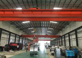 China LH 10T-20m Double Girder Electric Travelling Overhead Crane in Workshop with CD/MD Hoist supplier