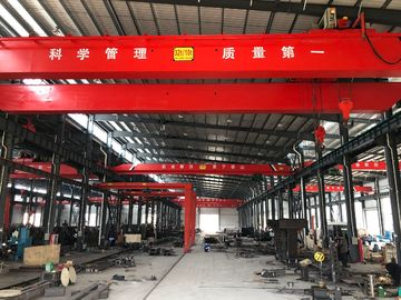 China LH10T - 20M Custom Double Girder Overhead Cranes For Machine Shops supplier
