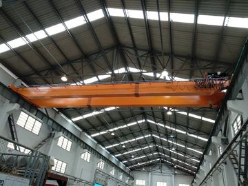 China OEM Double Girder Overhead Bridge Cranes With Hydraulic Brake supplier