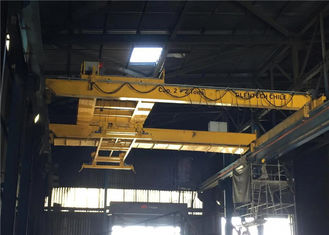 China Long Life Double Girder Overhead Cranes , Electric Overhead Travelling Crane supplier