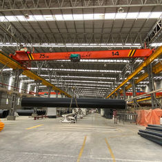 China Electric Traveling Single Girder Overhead Cranes Capacity 7.5m Span 20m Lifting Height 6m supplier