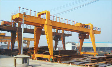 China QME30T-50M-35M Remote Controlling Gantry Shipyard Cranes For Granite Industry supplier