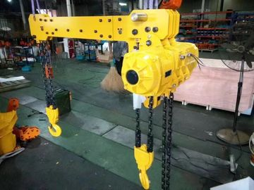 China Double Twin Hook Electric Chain Hoist Without Trolley Capacity 2 ton Lift Height 6m Work Duty M3 supplier