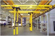 China Automatic Operated Double Beam Stacker Light Crane Systems supplier