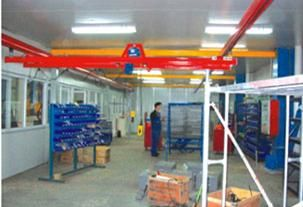 China Double Girder Light Crane Systems For Convey System supplier