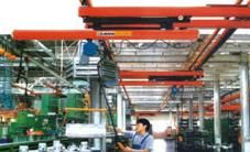China Cold-rolled Telescopic Beam Flexible Light Crane Systems supplier