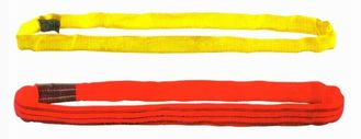 China Overhead Crane Components For Lifting Goods , Red or Yellow Polyester Round Sling Endless Type supplier