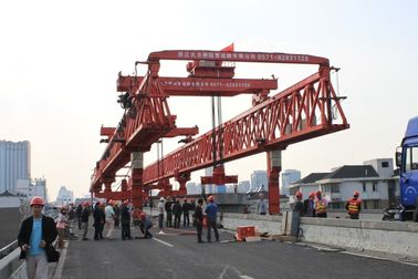 China High working efficiency Beam Launcher Gantry Crane in road precast beam erecting work supplier