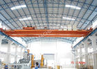 China Heavy Loads / Wide Span Double Girder Overhead Electric Cranes For Warehouse factory
