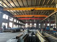 China Electric Single Girder Overhead Travelling Crane Light Duty 10 Ton Bridge Crane 17m factory