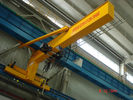 China Compacted Frame Wall Traveling Truck Jib Cranes For Fitting & Fabrication Workstation company