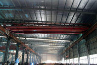 China 16t Electric Traveling Double Girder Overhead Cranes For Repair Shops factory