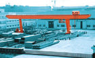 China Steel Inventory Yard L-Shape Gantry Crane for Road Construction Sites factory