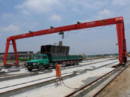 China OEM Single Girder Launching Girder Bridge For Railway Yard / Shipbuilding factory