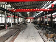 China 50t Double Girder Overhead Cranes with Two Torsion-free Box Girders factory