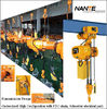 China Light Duty 2ton Electric Mechanical Engine Lifting Chain Hoist with Trolley company