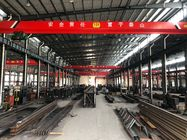 China Heavy Loads / Wide Span Double Girder Overhead Electric Cranes For Warehouse company