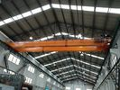 China OEM Double Girder Overhead Bridge Cranes With Hydraulic Brake factory