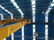 China Small Industrial Double Girder Overhead Cranes For Workshop , Long Life factory