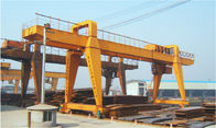China QME30T-50M-35M Remote Controlling Gantry Shipyard Cranes For Granite Industry company